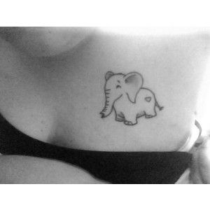 part of me wants to get a tattoo of an elephant...