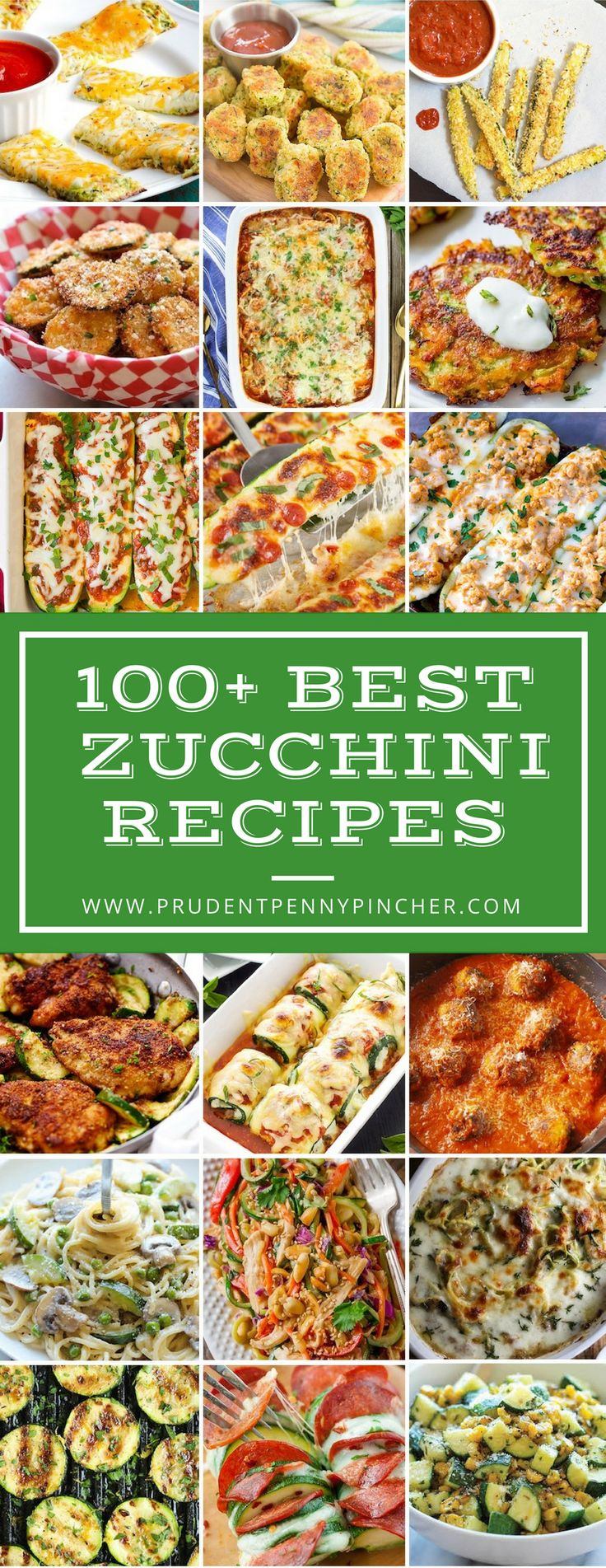 Have zucchini in your summer garden, but not sure what to make? Look no further, here is a round up of 100 of the best zucchini recipes on the internet! From zoodles to zucchini boats, there are many healthy dinner recipes here to choose from. There are even flavorful sides and delicious desserts included in …