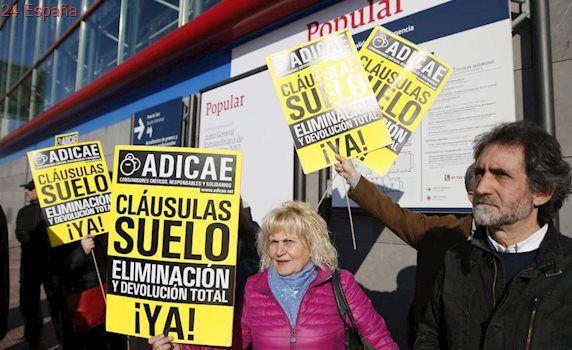 Adicae denuncia ante Economía los abusos de la banca con las cláusulas suelo