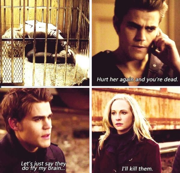 Stefan and Caroline's friendship