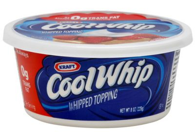 Cool Whip. Not Cool. Make the real stuff instead.