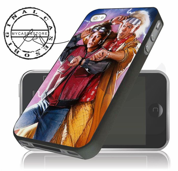 back to the future michael fox marty mcfly christopher lloyd iPhone 6, – mycasesstore