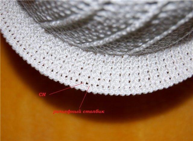 Шапки-шляпки и панамки: вяжем крючком, Caps, hats and panama: Knit crochet ~ HandMadiya.com