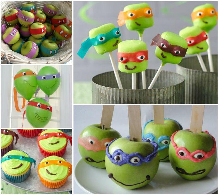 Ninja Turtle Party - many ideas