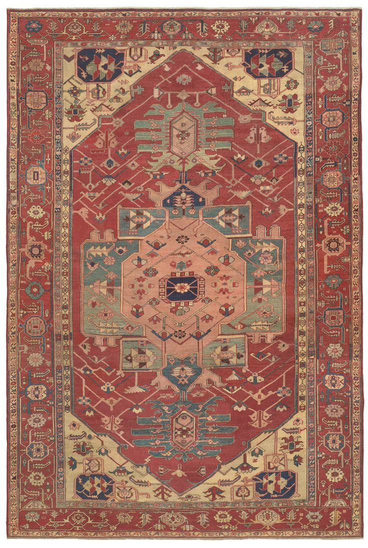 35 Best Images About Antique Persian Serapi Rugs On