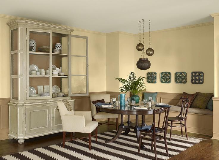 Best 25+ Yellow Dining Room Paint Ideas On Pinterest