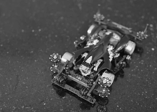 Tamiya Mini 4WD Spin Viper (Black Waigo Special, FM Chassis)