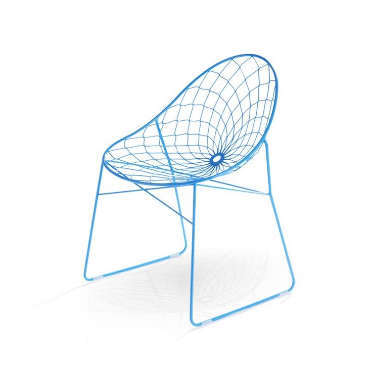 Source wire chair    Designer: Haldane Martin    The inspiration behind the source wire chair'sseat pattern is phyllotaxis – the beautiful, spiral growth pattern found in leaf and flower petal geometry.