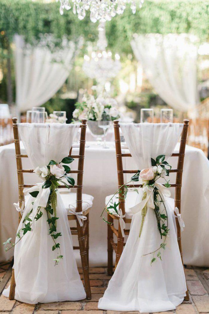 Votre mariage arrive à grands pas?Découvrir les plus belles idées, qu'on a sélectionné pour vous, avec beaucoup de variantes de la housse de chaise mariage!