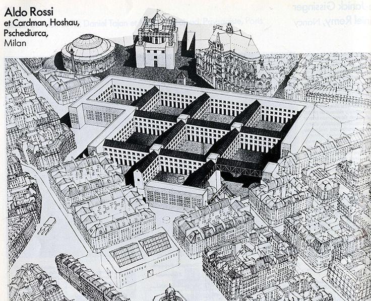 Aldo Rossi. Architecture D'Aujourd'Hui 207 April 1980: 18 | RNDRD