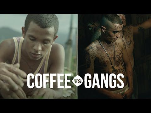 Kenco - Coffee vs Gangs [Official TV Advert] - YouTube - I love the clever way they have shown this lads progress through the use of tattoos on him - a great ad and a fantastic cause