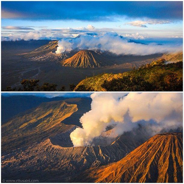 Mt.Bromo, Indonesia . By Ritu Saini http://colorodyssey.wordpress.com/2013/07/17/mt-bromo-a-volcanic-vacation/
