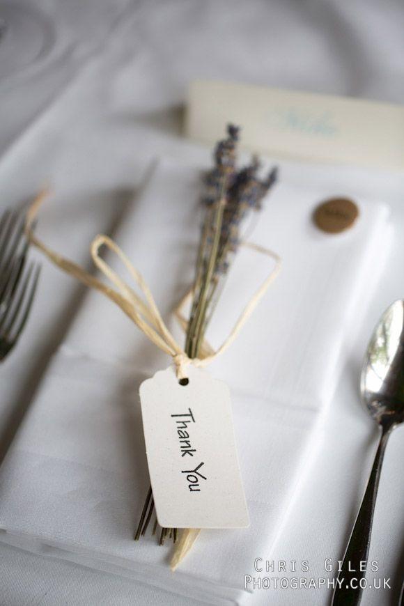lavender place setting ideas  