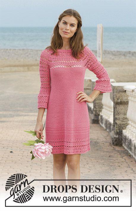 Платье крючком Primrose Dress - блог экспертов интернет-магазина пряжи 5motkov.ru