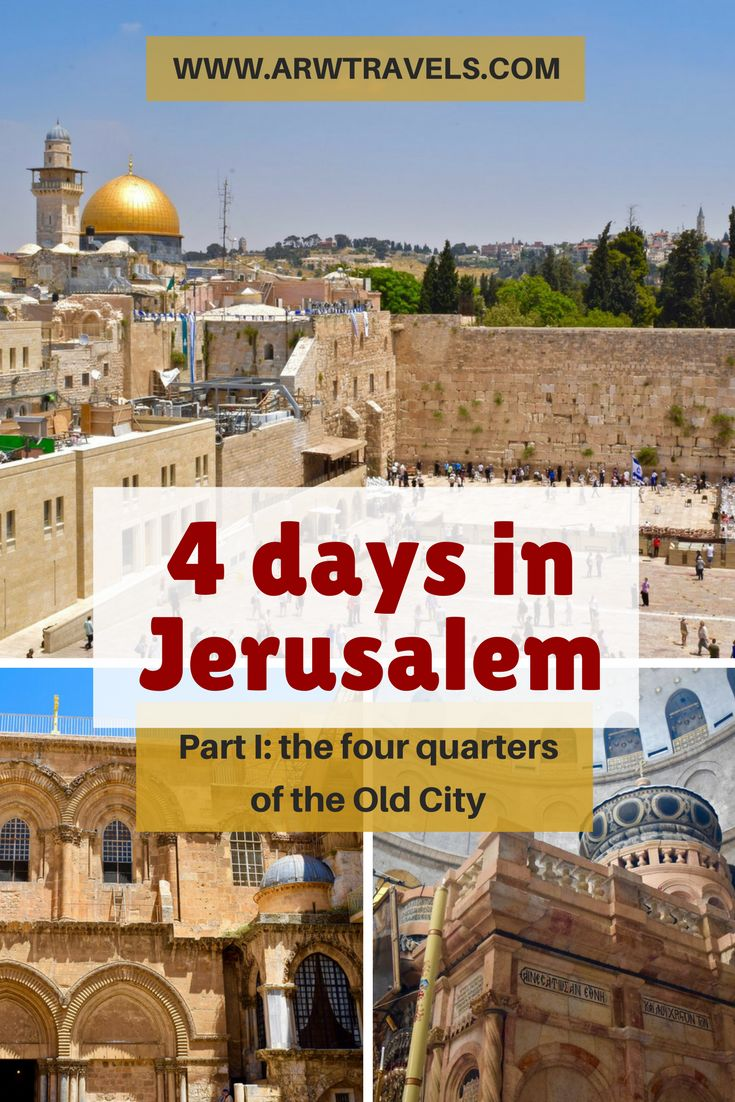 A holy city for Jews, Muslims and Christians alike, no other city in the world means so much to so many people. With over 4000 years of history, Jerusalem has not only witnessed some of the main events that have shaped the course of humankind, but it also keeps some of the most sacred sites on