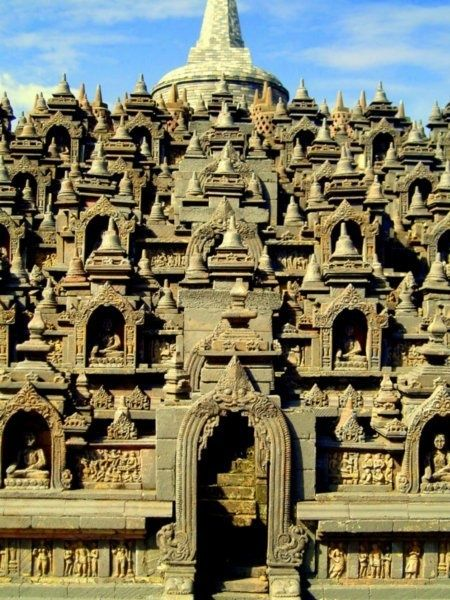Borobudur temple,Indonesia.