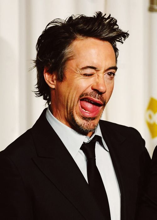 Robert Downing Jr. - Probably the coolest guy alive :)