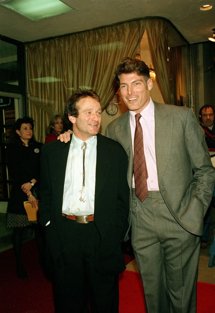 Robin and Christopher Reeve