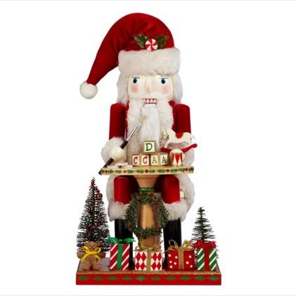 VIDA Statement Clutch - CHRISTMAS NUTCRACKERS by VIDA nyuXafvF