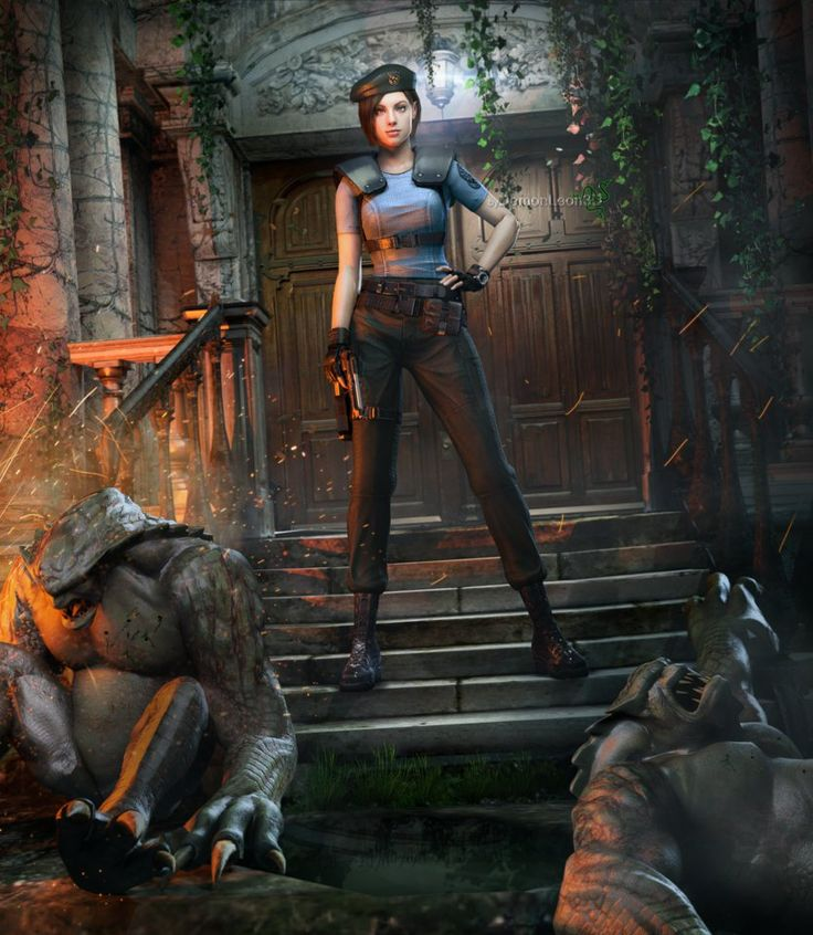 jill valentine hd wallpaper