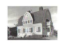 Bildresultat för herrgård brutet tak med frontespis