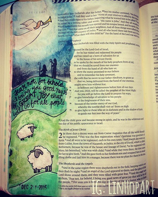 Luke 2:8 Lindsey Hopkins @linhopart Instagram photos | Websta