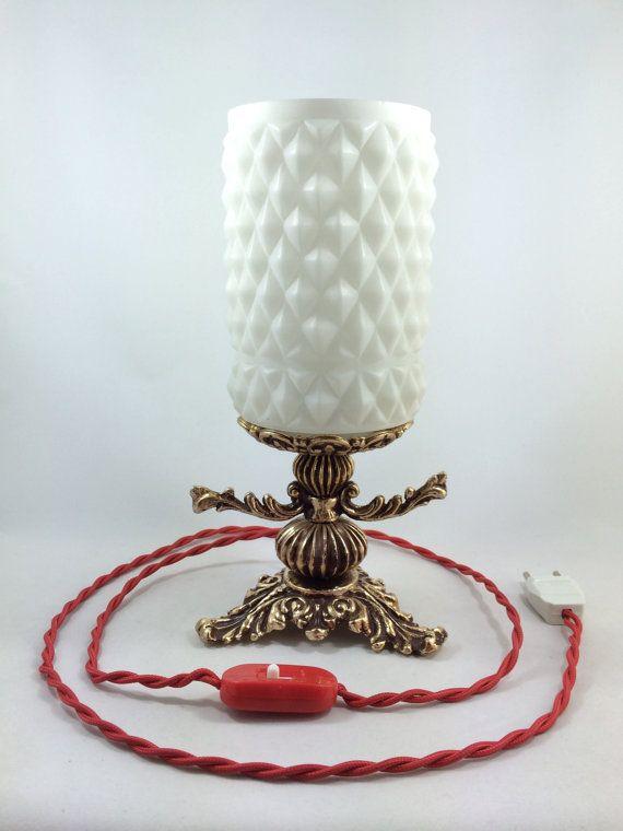 Vintage restored table lamp Vintage lighting by Lambater on Etsy, €85.00