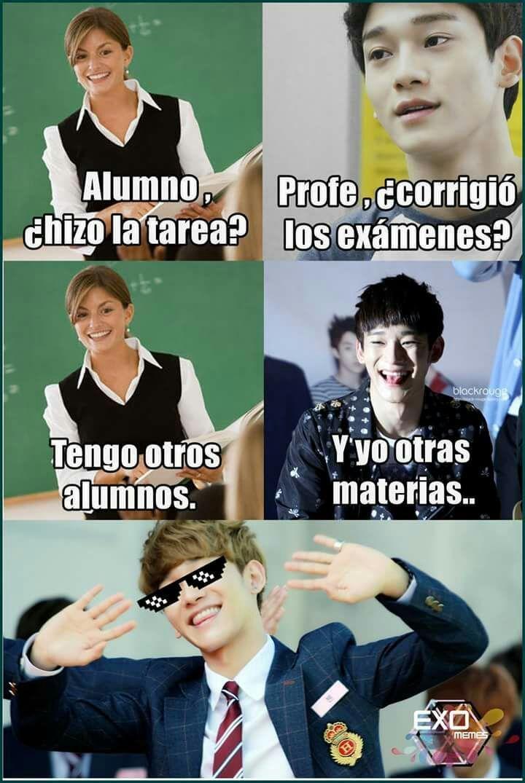 Resultado de imagen para memes de kpop exo en español ...
