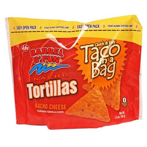 Barrel O Fun Chips Taco in a Bag 15 Ounce Pack of 72 -- Learn more by visiting the image link.