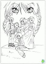 W.I.T.C.H. coloring pages- DinoKids.org