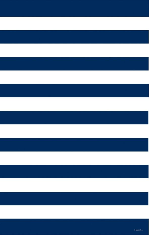 // navy & white stripes