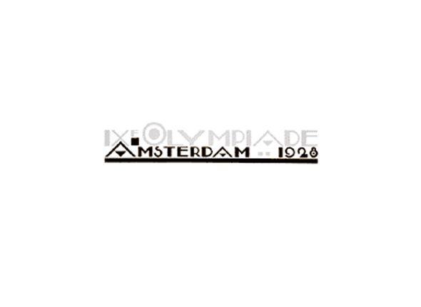 Logotipo de las olimpiadas Amsterdam 1928