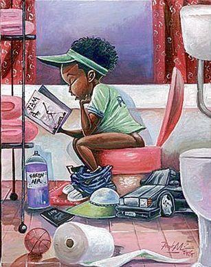 The Thinker by Frank Morrison | The Black Art Depot