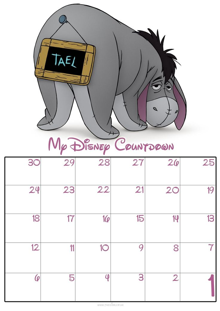Disney countdown calendar app in 2020 disney countdown