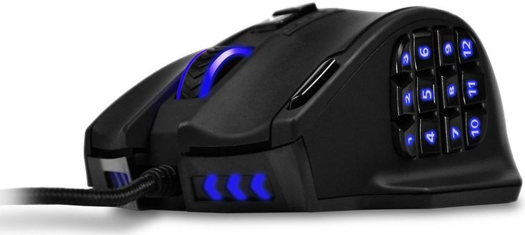 Gaming Mouse For PC High Precision Laser Ergonomic Game Computer 16400 DPI Gift #GamingMouseForPC http://www.giftideascorner.com/best-gifts-for-gamers/