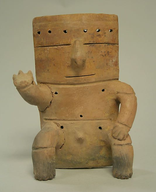 Seated Male Figure,Quimbaya culture  11th-12th century  Colombia