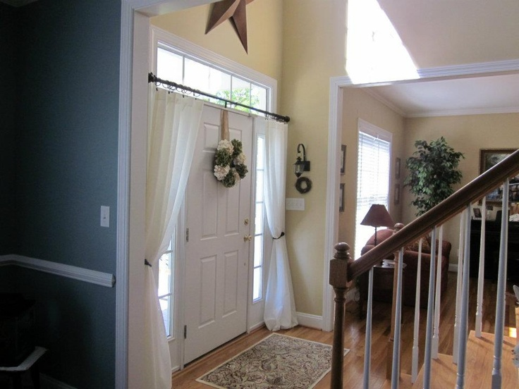 1000+ images about frontdoor curtains on Pinterest | Hallways ...