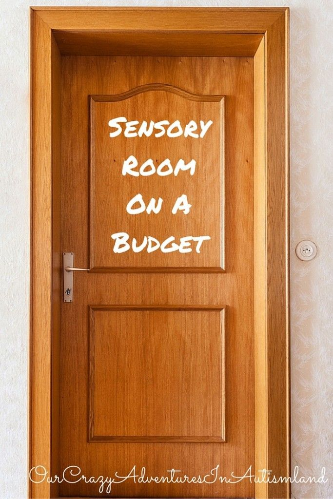 Sensory rooms can cost a ton of money. See how one mom made one for daughter with autism on a budget.
