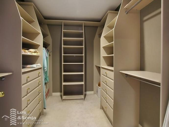 13 best images about organisation walk in robe on for Bedroom closets designs