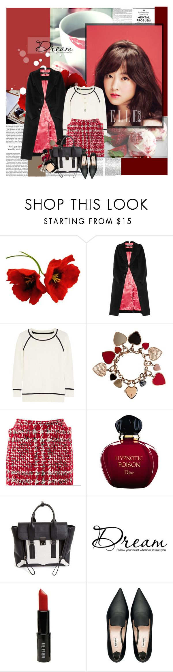 """Dream follow your heart wherever it takes..."" by thithi-nguyen17 ❤ liked on Polyvore featuring Spy Optic, Junya Watanabe, Iris & Ink, Burberry, Thom Browne, Christian Dior, 3.1 Phillip Lim, Lord & Berry, Chanel and Miu Miu"