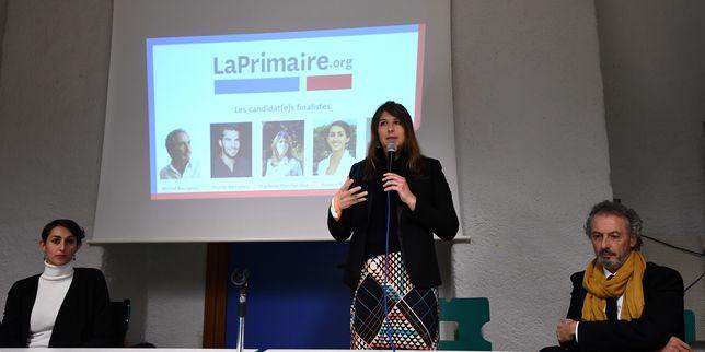 04.01.17 - LE MONDE  Présidentielle 2017 : Charlotte Marchandise, candidate de la société civile