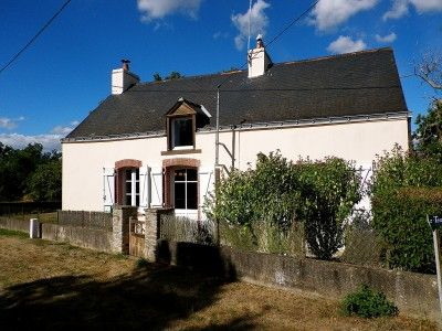 Summer.    French property, houses and homes for sale in ST JACUT-LES-PINS, Morbihan, Brittany
