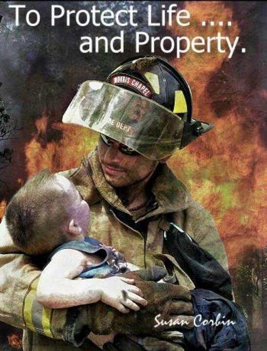 Firefighter Dedication