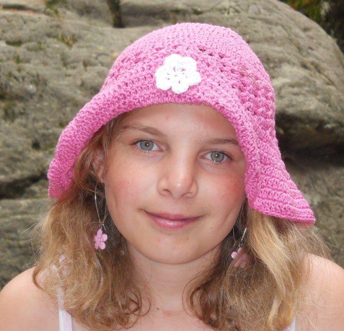letní klobouček / summer hat