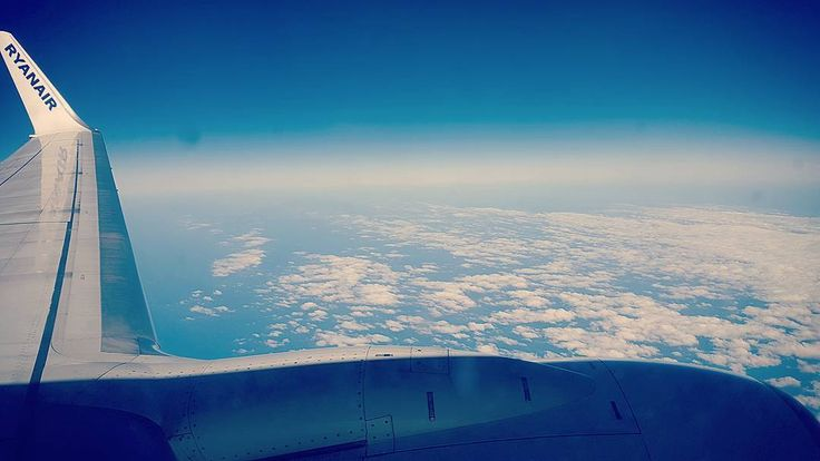 #sevilla #rome  Flying over the clouds  #skyporn #sky #ryanair