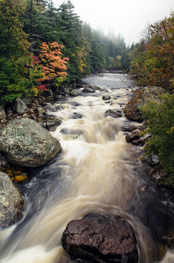 Ausable River, Wilmington/Lake Placid, New York | Mark Papke, Fine Art America