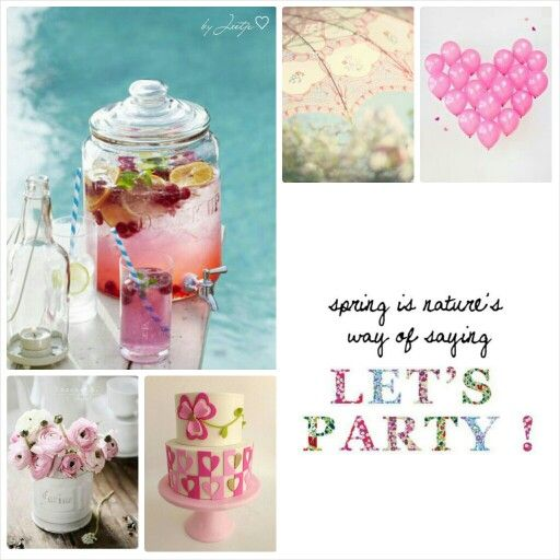Let's Party! #Moodboards #Mosaic #Collage by Jeetje♡
