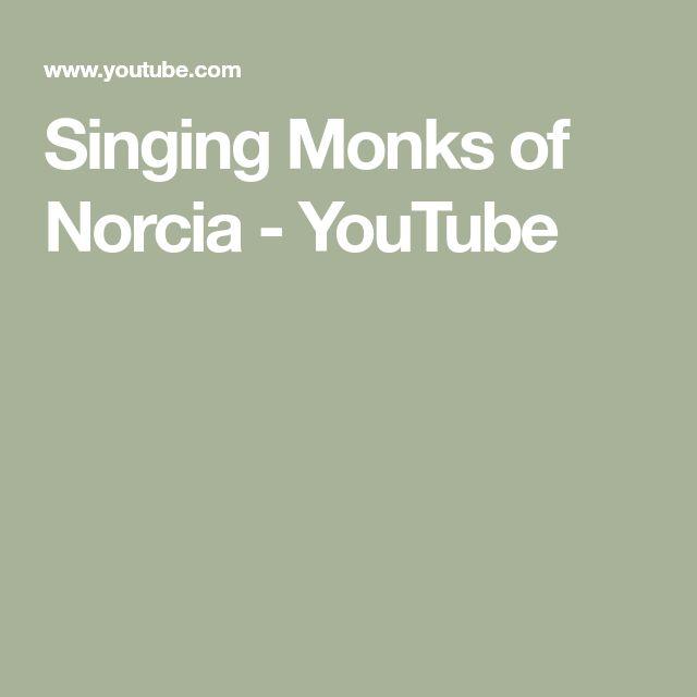 Singing Monks of Norcia - YouTube