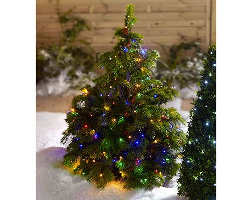 """Set Of 50 LED Lights £15  This set of 50 solar powered lights with white bulbs will look great in any garden. Features static and flashing functions. Length 2m (77"""").  KLife Kleeneze Christmas Xmas"""