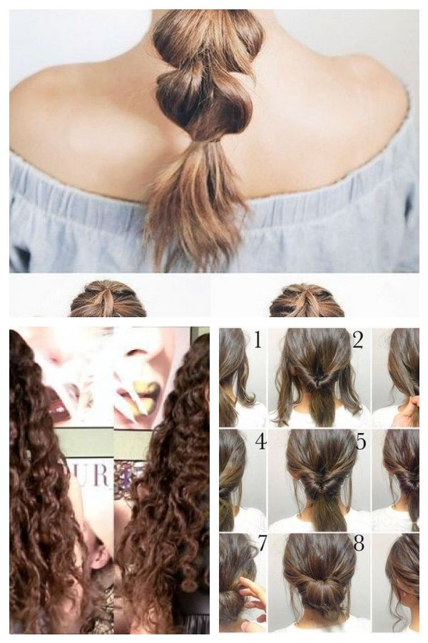 Quick Easy Updos For Long Thick Hair Easyhairstyles Easyhairstylestodoathome Thick Hair Styles Easy Hairstyles Easy Updos